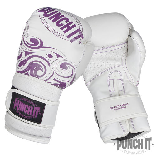 Punch it S2-Elite white Ladies Boxhandschuhe