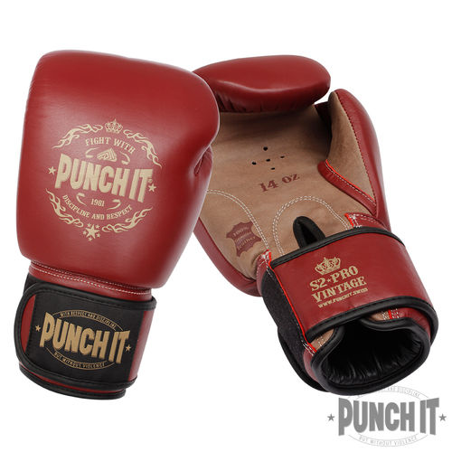 Punch it S2-PRO Vintage Boxhandschuhe