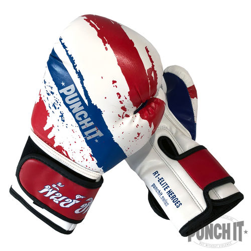 Punch it R1-Heroes Kinder-Boxhandschuhe 6oz