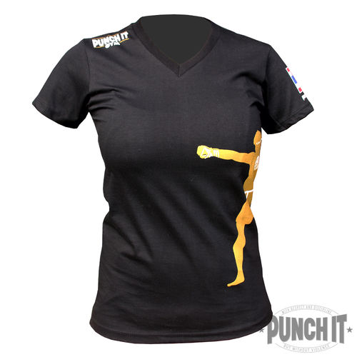 Punch it T-Shirt MuayThai Gym Koh Samui Women