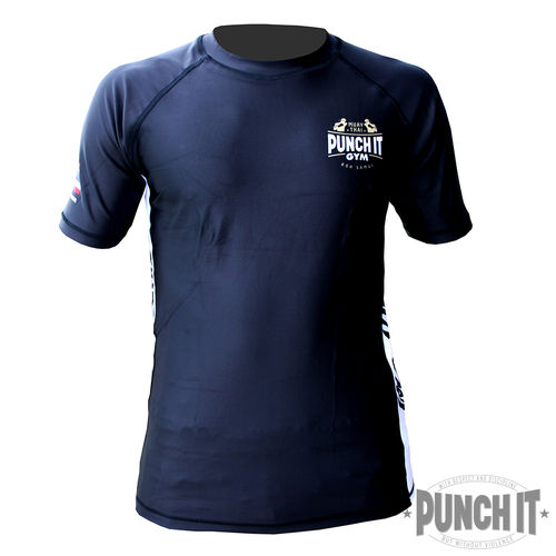 Punch it Gym Rashguard black