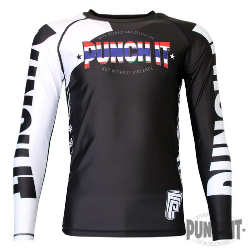 Punch it Thai Rashguard long